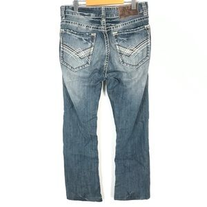 Rock & Roll Cowboy Double Barrel Relaxed Jeans